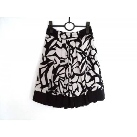 【中古】 ボディドレッシングデラックス スカート サイズ36 S レディース 黒 ベージュ
