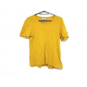【中古】 ホコモモラ JOCOMOMOLA 半袖Tシャツ サイズ40 XL レディース イエロー ニット