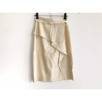 【中古】 ジャスグリッティー JUSGLITTY スカート サイズ1 S レディース イエロー
