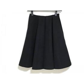 【中古】 ヨーコ チャン YOKO CHAN スカート サイズ36 S レディース 黒