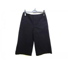 【中古】 ホコモモラ JOCOMOMOLA パンツ サイズ40 XL レディース 黒 七分丈