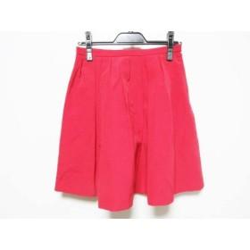 【中古】 アプワイザーリッシェ Apuweiser-riche スカート サイズ1 S レディース レッド