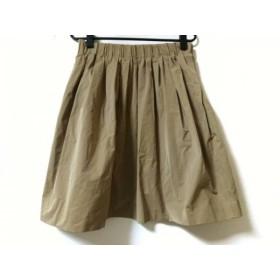 【中古】 ドレステリア DRESSTERIOR スカート サイズF レディース ライトブラウン