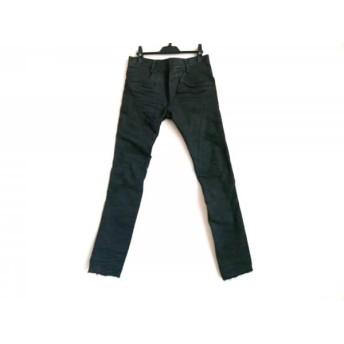 【中古】 バジュラ bajra パンツ サイズ2 M レディース 黒 ダメージ加工