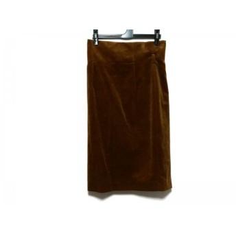 【中古】 ベイジ BEIGE スカート サイズ4 XL レディース ブラウン