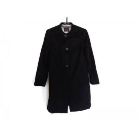 【中古】 トゥモローランド TOMORROWLAND コート サイズ38 M レディース 黒 冬物/COLLECTION