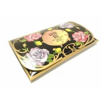 【中古】 アナスイ ANNA SUI 小物 美品 黒 レッド パープル フラワー/油取り紙 ペーパー