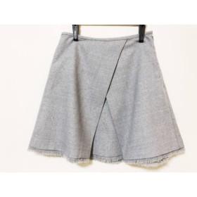 【中古】 エミ emmi スカート サイズ0 XS レディース ライトグレー
