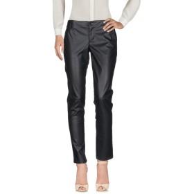 《期間限定セール中》GUESS レディース パンツ ブラック 30W-31L ポリエステル 100% / ポリウレタン樹脂