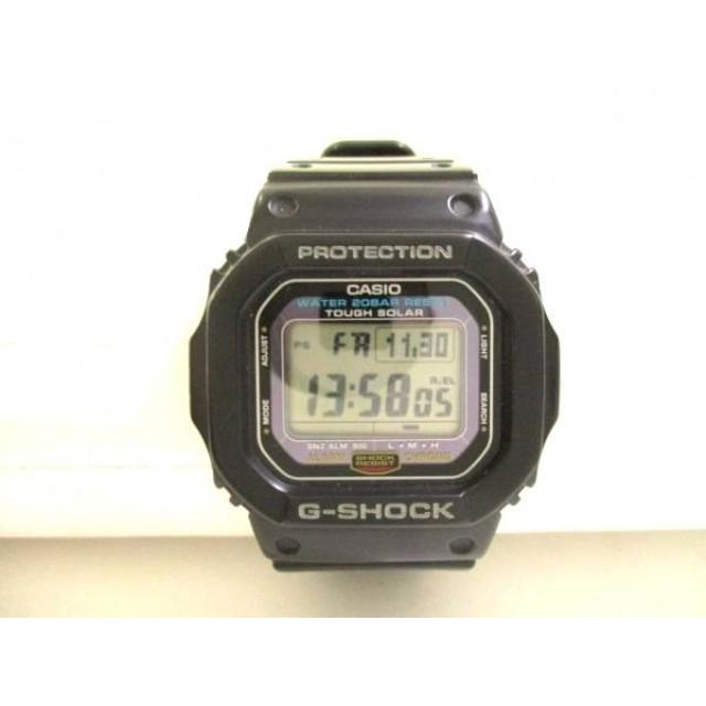 【中古】 カシオ CASIO 腕時計 G-SHOCK G-5600E メンズ 黒