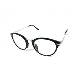 【中古】 マウジー moussy メガネ ブラック