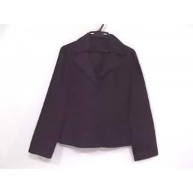 【中古】 レリアン Leilian ジャケット サイズ9 M レディース 黒