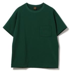 A VONTADE / ポケットTシャツ メンズ カットソー GREEN/6 M