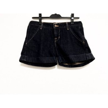 【中古】 ジェイブランド ショートパンツ サイズ24 レディース 美品 ネイビー for ROSE BUD/デニム