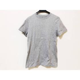 【中古】 ミラオーウェン Mila Owen 半袖Tシャツ サイズF レディース グレー
