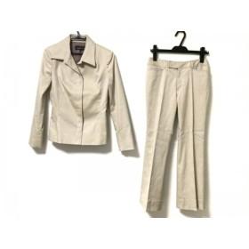 【中古】 インディビ INDIVI レディースパンツスーツ サイズ36 S レディース アイボリー 肩パッド