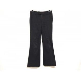 【中古】 ニジュウサンク 23区 パンツ サイズ36 S レディース ダークブラウン