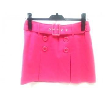 【中古】 セシルマクビー CECILMcBEE ミニスカート サイズS レディース ピンク