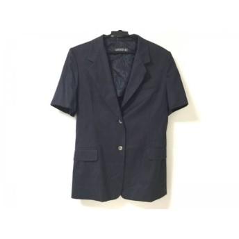 【中古】 マックスマーラウィークエンド ジャケット サイズ42 M レディース ネイビー 半袖