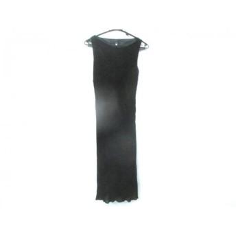 【中古】 イネド INED ワンピース サイズ2 M レディース 黒