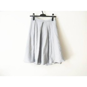 【中古】 ウィムガゼット whim gazette スカート サイズ36 S レディース ライトブルー