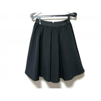 【中古】 トッコ tocco スカート サイズM レディース 美品 黒