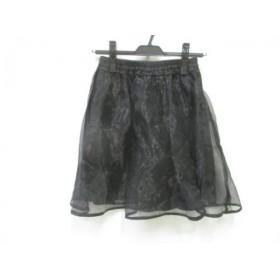【中古】 ノーブランド スカート サイズF レディース 黒