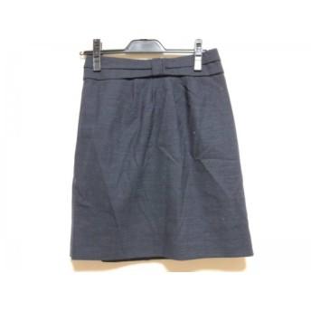 【中古】 マークバイマークジェイコブス スカート サイズ0 XS レディース ダークグレー