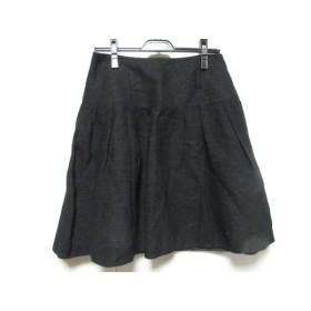 【中古】 トゥービーシック TO BE CHIC スカート サイズ42 L レディース 黒