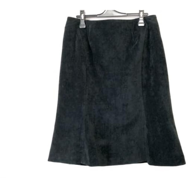 【中古】 ローズティアラ Rose Tiara スカート サイズ44 L レディース 黒