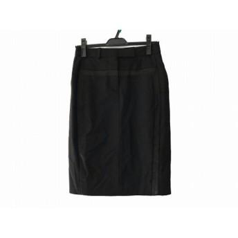 【中古】 ポールスミス PaulSmith スカート サイズ40 L レディース 美品 黒
