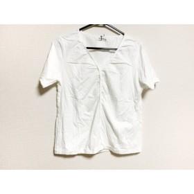【中古】 ワイズフォーリビング Y's for living 半袖Tシャツ レディース 美品 白
