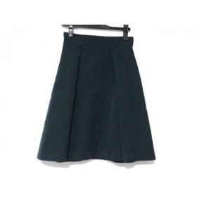 【中古】 ジャスグリッティー JUSGLITTY スカート サイズ1 S レディース グリーン