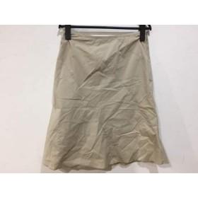 【中古】 ポールスミスウィメン PaulSmith women スカート サイズ40 M レディース ベージュ