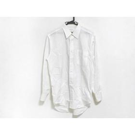 【中古】 ジバンシー GIVENCHY 長袖シャツ サイズ40-82 メンズ 白 ストライプ