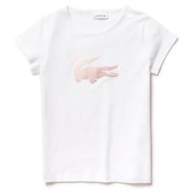 ガールズフロッキーロゴプリントTシャツ