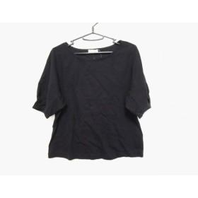 【中古】 パンソー PINCEAU 半袖Tシャツ サイズ38 M レディース 黒 ボーダー