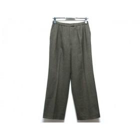 【中古】 レリアン Leilian パンツ サイズ11 M レディース ダークブラウン