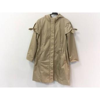 【中古】トッカ TOCCA コート サイズ0 XS レディース ベージュ 春・秋物 値下げ 20190306