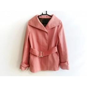 【中古】 アンタイトル UNTITLED コート サイズ2 M レディース ピンク 春・秋物