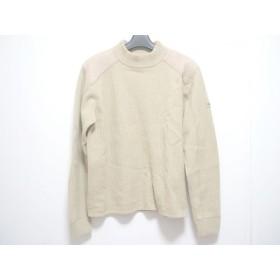 【中古】 ガス GAS 長袖セーター サイズM メンズ ベージュ