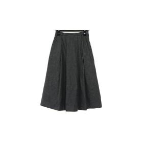 【中古】 カルバンクライン CalvinKlein スカート サイズ9 M レディース グレー