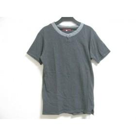 【中古】 ワイズ Y's 半袖カットソー サイズ2 M メンズ ダークグレー グレー for men