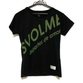 【中古】 スボルメ SVOLME 半袖Tシャツ サイズS レディース 黒 イエロー