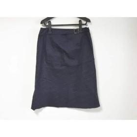 【中古】 ニジュウサンク 23区 スカート サイズ48 XL レディース パープル 黒