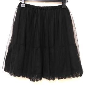 【中古】 アダムエロペ Adam et Rope スカート サイズ38 M レディース 黒