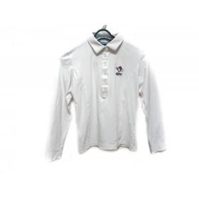【中古】 キャロウェイ CALLAWAY 長袖ポロシャツ サイズM レディース 白