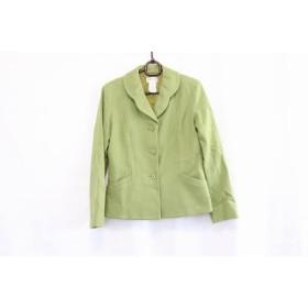 【中古】 アニエスベー agnes b ジャケット サイズ38 M レディース ライトグリーン