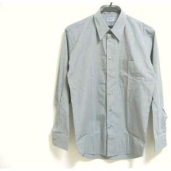 【中古】 ケンゾー KENZO 長袖シャツ サイズ2 M メンズ ライトグレー