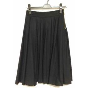 【中古】 ブルーレーベルクレストブリッジ BLUE LABEL CRESTBRIDGE スカート サイズ36 S レディース 黒